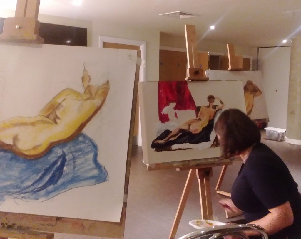 Life Drawing – September