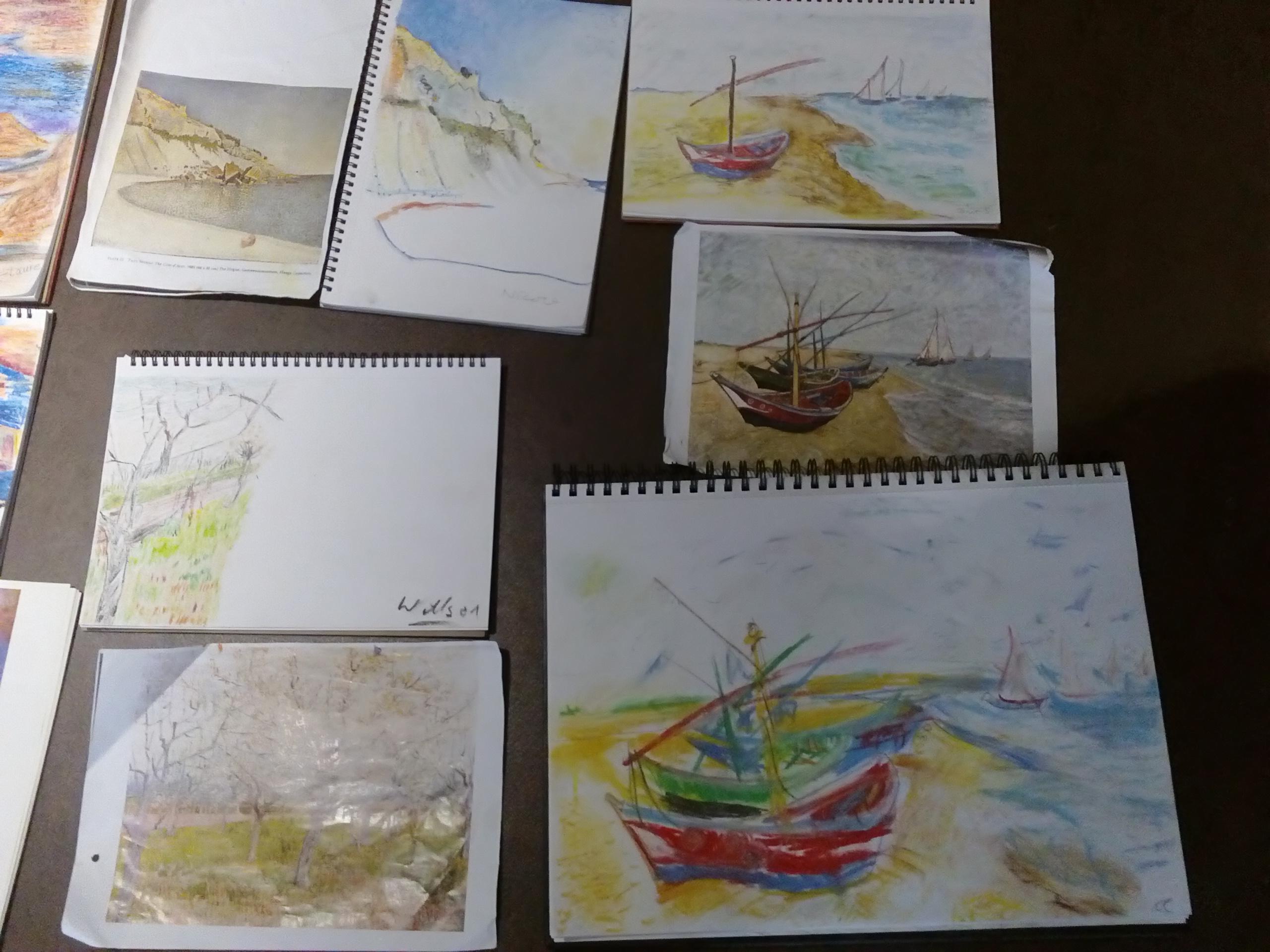 Drawing with Sheila Moylan