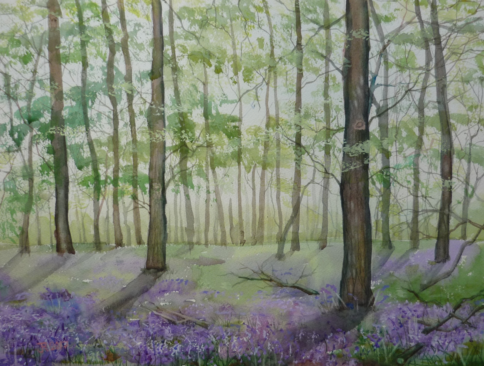 Watercolour Classes with Jessica Rose