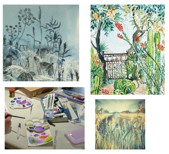 Inspired by Nature – creative watercolour