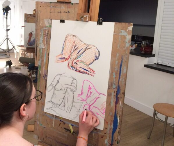 Life Drawing – October