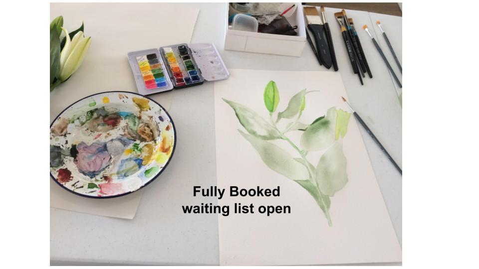 """The Natural World"" Watercolour Course"