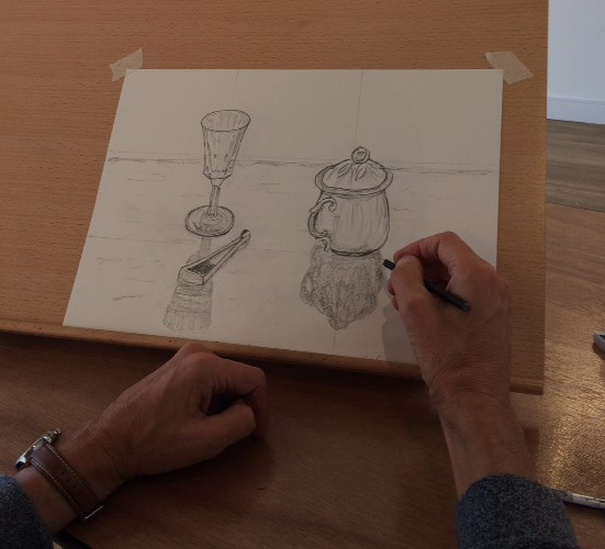 Intermediate to Advanced Drawing with Sophie Wakefield