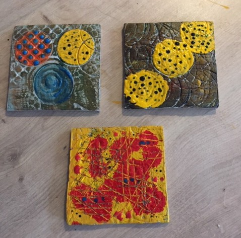 How to make a Patterned Clay Tile