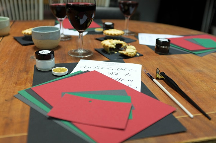 Coloured Inks Calligraphy Workshop
